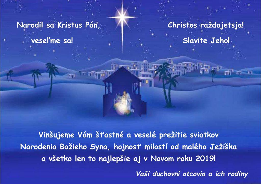 Vinš kňazov veriacim - Gréckokatolícka cirkev Humenné 897673c8d1f